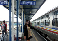 Butterworth Station, Bangkok to Malaysia by Train, Butterworth Station Penang