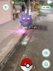 Koffing in Buriram, Pokemon Go in Bangkok and Thailand