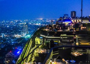 Tiered Seating, Vertigo Banyan Tree Best Rooftop Restaurant in Bangkok