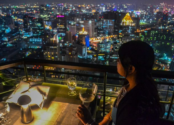City Views, Vertigo Banyan Tree Best Rooftop Restaurant in Bangkok
