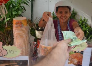 Happy Vendor, International street food in Bangkok Thailand