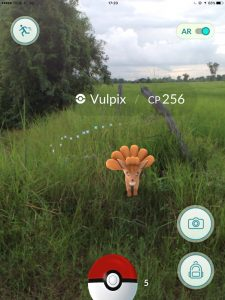 Vulpix in Isaan, Pokemon Go in Bangkok and Thailand
