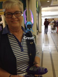 Playing with Mum, Pokemon Go in Bangkok and Thailand