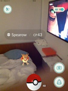 Hot Bird in Hotel Bed, Pokemon Go in Bangkok and Thailand