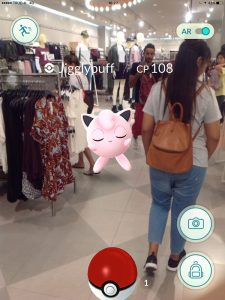 Jigglypuff in H&M, Pokemon Go in Bangkok and Thailand